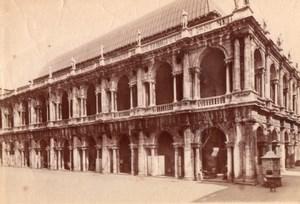 Italy Vicenza Basilica Palladiana Palazzo della Ragione Old Photo 1890