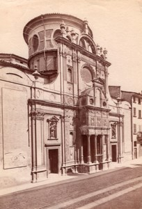 Italy Brescia Santa Maria dei Miracoli Church Old Photo 1890