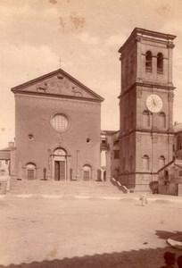 Italy Viterbo Basilica of Santa Maria della Quercia Old Photo 1890
