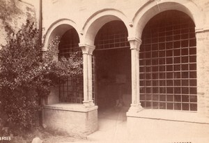 Italy Verona Tomba di Giulietta Romeo and Juliet Old Photo 1890
