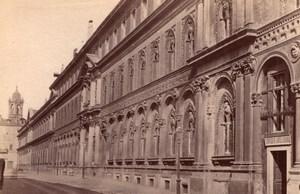 Italy Milan Milano Ospedale Maggiore Hospital Old Photo 1890