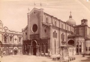 Italy Venice Venezia Basilica di San Giovanni e Paolo San Zanipolo Photo 1890