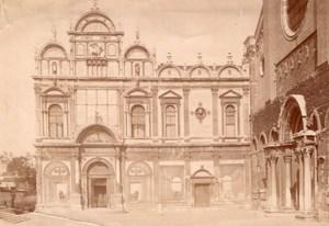 Italy Venice Venezia Basilica di San Giovanni e Paolo & Hospital Old Photo 1890