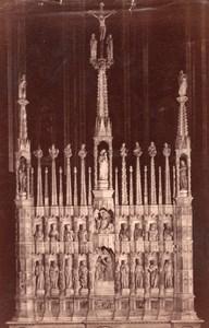 Italy Bologna Basilica di San Francesco interior Old Photo 1890