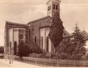 Italy Padua Padova Church of the Eremitani Old Photo 1890