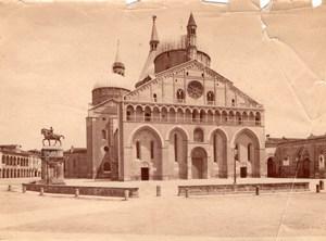 Italy Padua Padova Basilica of Saint Anthony Sant'Antonio Old Photo 1890