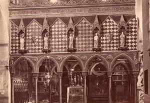 Italy Padua Padova Basilica Saint Anthony Sant'Antonio Chapel Old Photo 1890