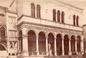 Italy Padua Padova Loggia del Consiglio Piazza dei Signori Old Photo 1890