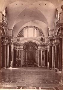 Italy Rome Roma Basilica Santa Maria degli Angeli Old Photo 1890