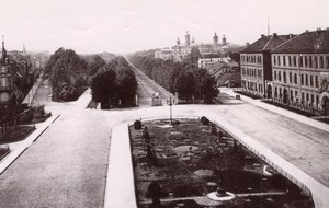 Czech Republic Olomouc? Panorama Old Rommler & Jonas Photo 1890