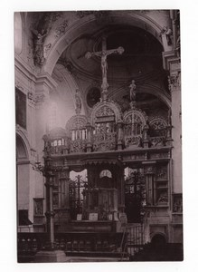 Germany Hildesheim Cathedral Rood Screen Old Rommler & Jonas Photo 1890