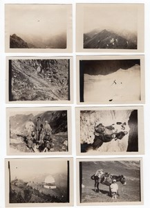 France Pyrenees Pic du Midi Observatory Mountain 8 amateur Snapshot Photos 1926