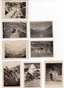 France Pyrenees Vacances a la Montagne Gavarnie 8 Anciennes Photos Amateur 1920's