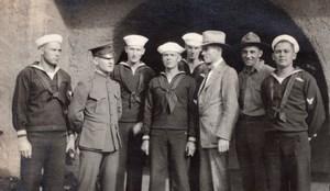 Colorado Trinidad US Navy Marines Baseball Trip Old amateur Snapshot Photo 1918