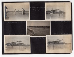 Colorado Fort Lyon Military Athletics Field Meet 8 amateur Snapshot Photos 1919