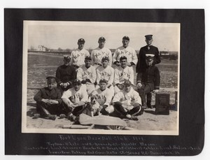Colorado Fort Lyon US Navy Baseball Club Team all named Old amateur Photos 1919