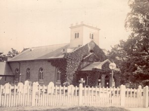 Totteridge Eglise St Andrew's Church of England Ancienne Photo Amateur 1900