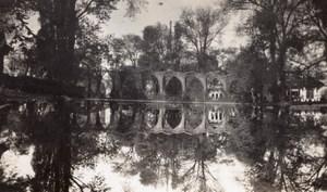 Paris Exposition Coloniale Iles de Bagdad Pont Lac Daumesnil Ancienne Photo Amateur 1931