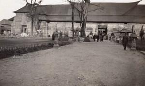 Paris Exposition Coloniale Nouveau Pavillon des Pays Bas Ancienne Photo Amateur 1931