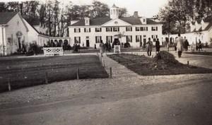 Paris Exposition Coloniale Pavillon des USA Etats-Unis Ancienne Photo Amateur 1931
