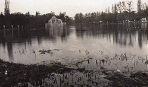 Paris Exposition Coloniale Lac Daumesnil Théâtre d'Eau Ancienne Photo Amateur 1931
