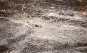 USA Aerial View Long Tom Cannons US Army Old Photo 1945