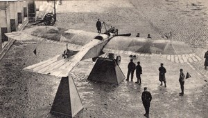 Paris Army Museum Captured German Aircraft Musee de l'Armee Old Postcard 1915