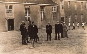 Germany Berlin Spandau Group School? Old Reinelt Real Photo Postcard 1921
