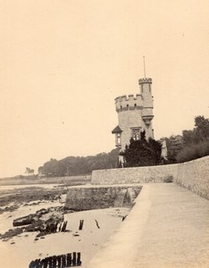 Isle of Wight Appley Towers Tour Gothique Folie Ancienne Photo 1900