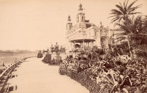 Monaco Casino & Panorama view from the Sea 2 Old Neurdein Photos 1890