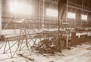 France Aviation Dirigeable Clement Bayard Moteurs Ancienne Photo Branger 1911