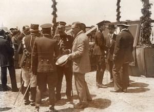 Espagne Aviation Course Paris Madrid Roi Alphonse XIII Ancienne Photo 1911