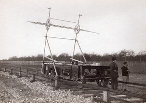 St Cyr Institute of Aerotechnics Aviation Air Resistance Tests Old Photo 1911