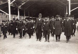 France General Brun at Industrial Vehicles Exhibition Old Photo 1910