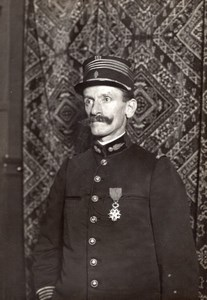 France Military Aviation Colonel Bouttiaux Portrait Old Photo 1911