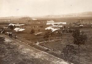 France Juvisy Airfield Aviation Sylphe Helicoplane Jourdan Airplanes Photo 1911