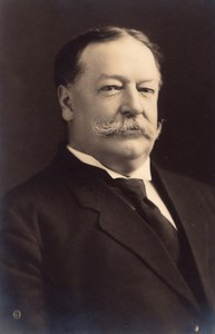 US President William Howard Taft Portrait Old Baker Art Gallery Photo 1910's