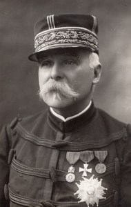 French Army General Paul Pau? Portrait Old Henri Manuel Photo 1910's