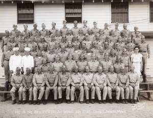 Camp Edwards Edward Sirois Massachusetts National Guard Waid & Slater Photo 1948