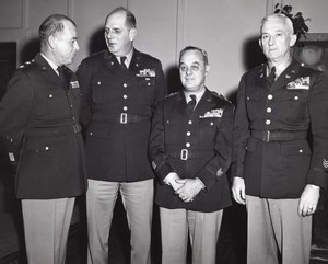 Fort Devens Massachusetts National Guard Reception Edward Sirois old Photo 1955