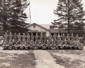 US Army Air Corps Photographic Dept Randolph Field? Cadet Class Old Photo 1941