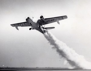 US Air Force Grumman Albatross Taking off Military Aviation Old Photo 1960's
