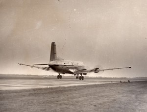 Douglas C-124 Globemaster US Air Force Cargo Aircraft Aviation old Photo 1950's
