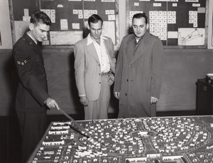 Texas Randolph Air Force Base Urban Planning Old Photo 1960's