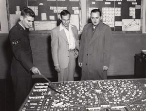 Texas Randolph Air Force Base Urban Planning Old Photo 1960's