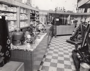 Texas Randolph Air Force Base Military General Store old Photo 1960's