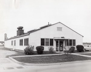 Texas Randolph Air Force Base Military Building T-96 old Photo 1950's