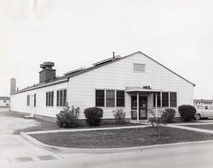 Texas Randolph Air Force Base Military Building T-96 old Photo 1950's