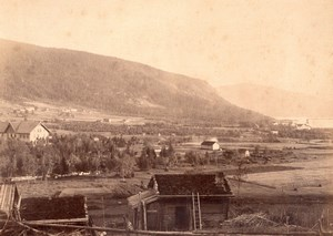 Norway Rygland Rugland Countryside Valley Old Photo 1890