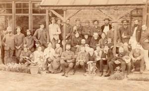 Worcestershire Romsley Frankley Victoria Jubilee Jubilé Ancienne Photo 1887 ?